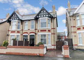 Thumbnail 4 bed semi-detached house for sale in Lake Avenue, Rhyl