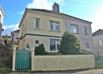 Thumbnail 3 bed semi-detached house to rent in Pendarves Road, Falmouth, Cornwall