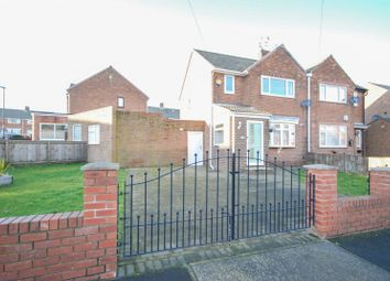 Thumbnail 2 bed semi-detached house for sale in Crossways, New Silksworth, Sunderland