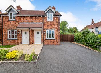 Thumbnail 2 bed semi-detached house for sale in Stamford Lane, Warmington, Peterborough