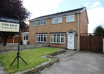 Thumbnail 3 bed semi-detached house for sale in Foresters Close, Bickershaw, Wigan