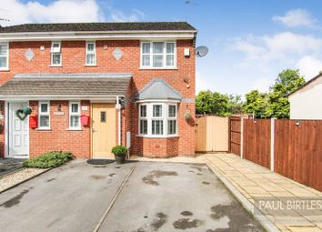 Thumbnail 3 bed semi-detached house for sale in Warburton Lane, Partington