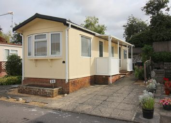 Thumbnail 1 bed mobile/park home to rent in Valdean Home Park, Alresford, Hampshire