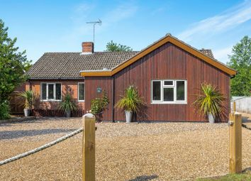 Thumbnail 4 bedroom detached bungalow for sale in Station Road, Thursford, Fakenham