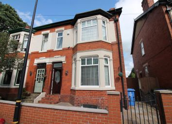 Thumbnail 3 bed semi-detached house for sale in Rowan Avenue, Urmston, Manchester