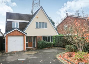 Thumbnail 4 bed detached house for sale in Brindley Close, Wombourne, Wolverhampton