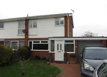 Thumbnail 3 bed semi-detached house for sale in Humberdale Way, Warboys, Huntingdon