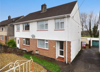 Thumbnail 3 bed semi-detached house for sale in Maidenwell Road, Plymouth