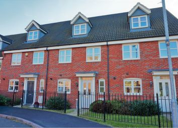 Thumbnail 4 bed town house for sale in Old Church Road, Enderby, Leicester