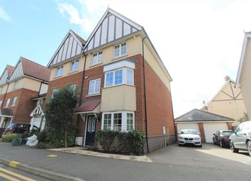 Thumbnail 4 bed end terrace house to rent in Apprentice Drive, Colchester