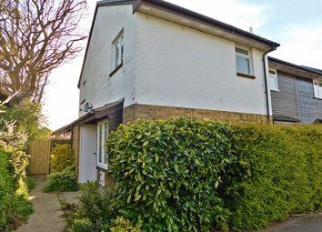 Thumbnail 1 bed end terrace house for sale in Shannon Road, Stubbington, Fareham