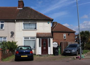 Thumbnail 2 bedroom end terrace house for sale in Langley Crescent, Dagenham