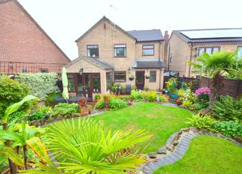 Thumbnail 4 bed detached house for sale in Fanshaw Close, Eckington, Sheffield