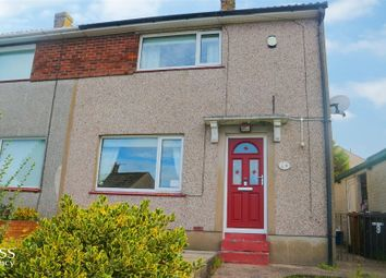 Thumbnail 2 bedroom semi-detached house for sale in Muncaster Close, Whitehaven, Cumbria