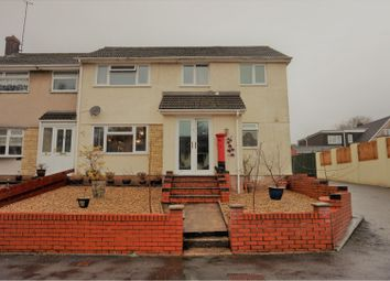 Thumbnail 4 bed end terrace house for sale in Berkeley Crescent, Pontypool
