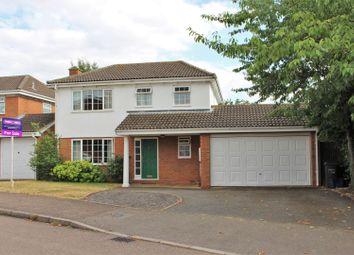 Thumbnail 4 bed detached house for sale in Wakehurst Drive, East Hunsbury, Northampton