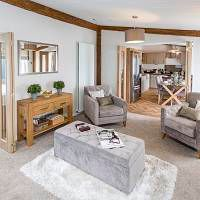 Thumbnail 2 bed lodge for sale in Bentham Road, Ingleton