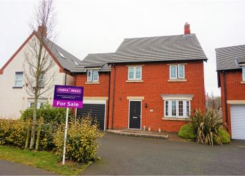 Thumbnail 4 bed detached house for sale in Brunel Way, Swadlincote