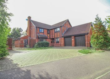 Thumbnail 5 bedroom detached house for sale in Chipping Vale, Milton Keynes