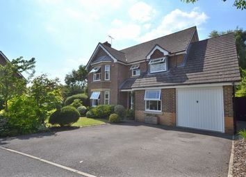Thumbnail 4 bed detached house for sale in Silvester Way, Church Crookham, Fleet