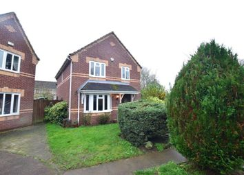 Thumbnail 4 bed detached house for sale in Blackthorn Road, Attleborough