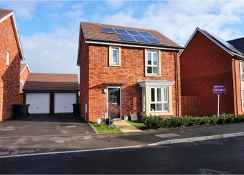 Thumbnail 3 bed detached house for sale in Armstrong Road, Stoke Orchard, Cheltenham