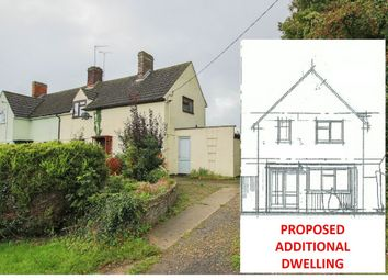 Thumbnail 3 bed semi-detached house for sale in Tye Green, Wimbish, Saffron Walden