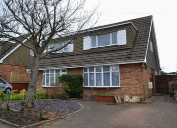 Thumbnail 2 bed semi-detached house for sale in Aintree Road, Parklands, Northampton