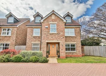 Thumbnail 4 bed detached house for sale in Usk Road, Llanishen, Cardiff
