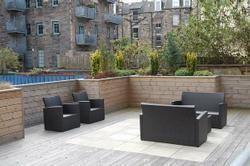 Thumbnail 2 bed flat to rent in Water Street, Edinburgh