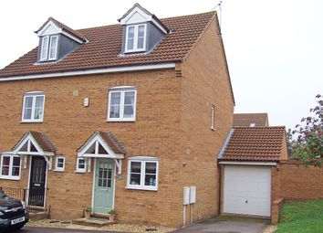 Thumbnail 3 bed semi-detached house for sale in Stone Close, Wellingborough