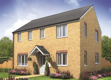 "Thumbnail 3 bed detached house for sale in ""The Clayton Corner"" at Derwen View, Brackla, Bridgend"
