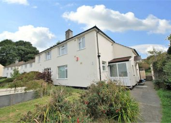 Thumbnail 1 bed flat for sale in Hardy Crescent, Plymouth