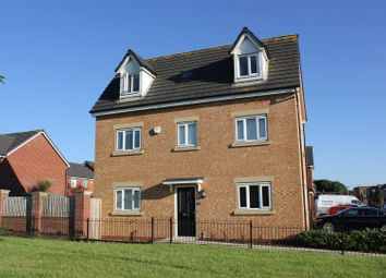 Thumbnail 4 bedroom detached house for sale in Moss Lane, Worsley, Manchester