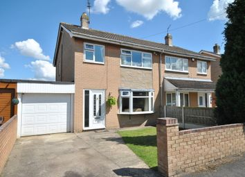 Thumbnail 3 bed semi-detached house for sale in Orchard Drive, Dunsville, Doncaster