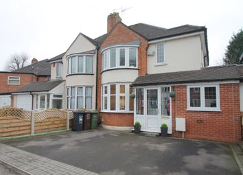 Thumbnail 3 bed semi-detached house for sale in Verstone Road, Shirley, Solihull