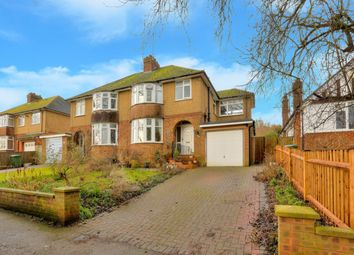 Thumbnail 3 bed semi-detached house for sale in Lower Luton Road, Wheathampstead, St. Albans