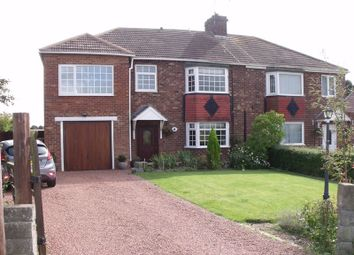 Thumbnail 4 bed semi-detached house for sale in Cresswell Road, Ellington, Morpeth