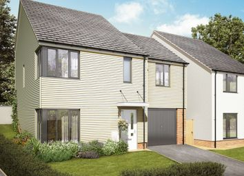 Thumbnail 4 bedroom detached house for sale in Coombe Lane, Tamerton Foliot, Plymouth