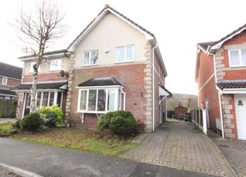Thumbnail 3 bed semi-detached house to rent in The Sidings, Darwen