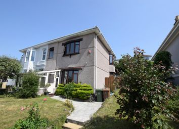 Thumbnail 4 bedroom semi-detached house for sale in Penrose Villas, Mannamead, Plymouth