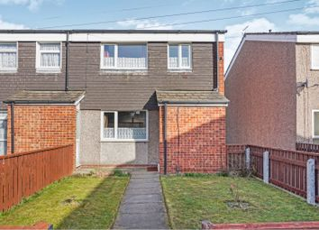 Thumbnail 3 bedroom end terrace house for sale in Millom Way, Grimsby