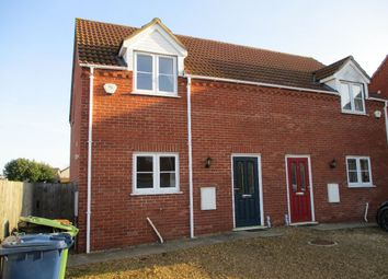 Thumbnail 2 bed semi-detached house to rent in Tinkers Drove, Wisbech