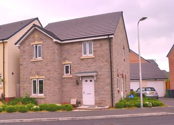 Thumbnail 4 bedroom detached house for sale in Heol Y Groes, Cwmbran