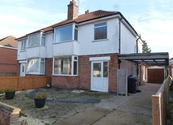 Thumbnail 3 bed semi-detached house for sale in Lumley Avenue, Skegness
