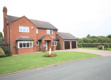 Thumbnail 4 bed detached house for sale in Hawcroft, Longdon, Rugeley