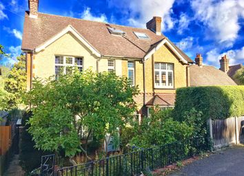 Thumbnail 3 bed semi-detached house for sale in Westerham Road, Oxted, Surrey