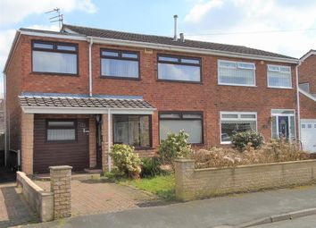 Thumbnail 4 bed semi-detached house for sale in Beaumont Drive, Aintree Village, Liverpool