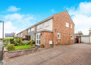 Thumbnail 3 bedroom semi-detached house for sale in Woodland Road, Sawston, Cambridge