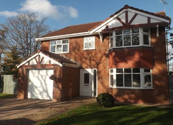 Thumbnail 4 bed detached house for sale in Bostock Road, Winsford
